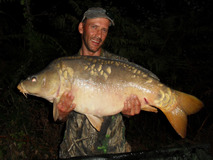 Jay with H - 38 lb 14 oz swim 3  - August 2017