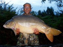 Jay swim 3 - 45 lb 3 oz fish number 19 - August 2017