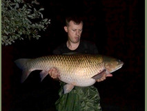 Jamie lake record Grass - 53 lb 4 oz swim 9 - October 2017