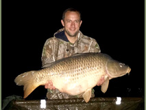 Paul with Scar the Common - 47 lb 10 oz swim 4 margin - October 2017