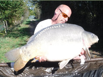 Steve's last fish - 37 lb swim 4  - October 2017