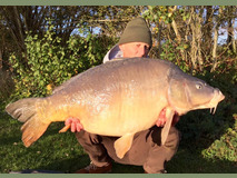 Mick with Nobby - 41 lb 5 oz swim 5  - October 2017