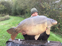 Mick with The Mole - 56 lb 12 oz - October 2017