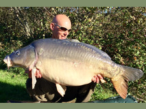 Mick with Conky - 47 lb 8 oz swim 5 - October 2017