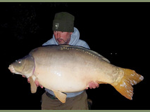 Andy with Small Tail - 47 lb swim 8  - November 2017