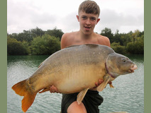 Toby with his new PB - 51 lb swim 5  - August 2018