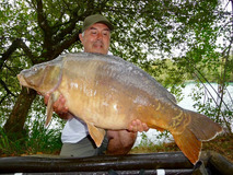 Sir Bob (6) with Nobby - 41 lb 8 oz swim 9 - August 2018