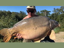 Andy with The Mole - 59 lb 8 oz swim 5 PB - September 2018