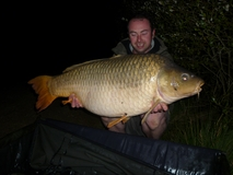 Richys new pb - 44 lb 8 oz common - September 2011