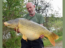 Steve with Scar - 49 lb 4 oz swim 5 - May 2019
