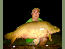 Sir Bob with Orangina - 46 lb 4 oz swim 4  - August 2019