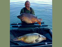 Double Take ! - 61,9 and 41 lb swim 9  - September 2019