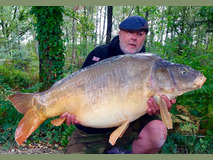 Martyn with Forest - 44 lb 8 oz swim 9  - September 2019