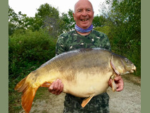 Pete with Split Tail - 47 lb 14 oz swim 5 - September 2019