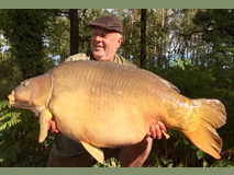Martyn with Small Scar - 54 lb swim 9  - September 2019