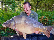 Gary with Nobby - 43 lb 2 oz swim 9  - September 2019