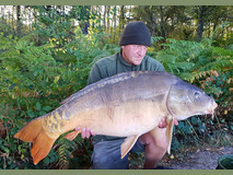 Gary with Big Al - 38 lb swim 9  - September 2019
