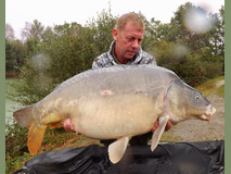 Alan with conky 9th 40 - 48 lb 10 oz swim 5  - September 2019