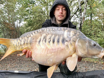Bob with Scales ! - 20 lb swim 9 up and coming ! - October 2019