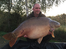 Kevin with Stallone - 57 lb 6 oz swim 5 - October 2019