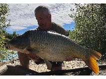 Mark fish number no 9 - 42 lb swim 4  - August 2020