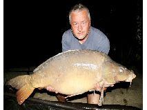 Mark fish number 13 - 44 lb swim 4 - August 2020