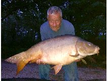 Mark fish number 15 - 37 lb. swim 9  - August 2020