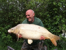 common carp - 35lb 6oz - May 2010
