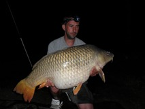 Steven Bode - 52 lb New lake common record - May 2012