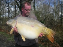 Andy's New PB - 41lb 6oz - April 2013