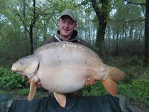 Jon's PB swim 9 - 42lb 8oz with Chunk - April 2013