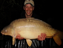 Jay with another 40 - 42 lb 8 oz - April 2011