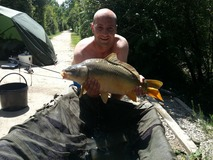 Chris - Nice stock lake fish - July 2013